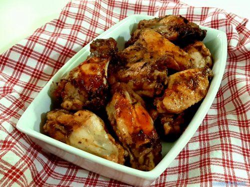 Ali di pollo sfiziose