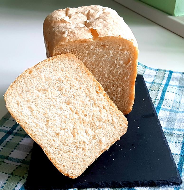 Pane classico senza burro con mdp
