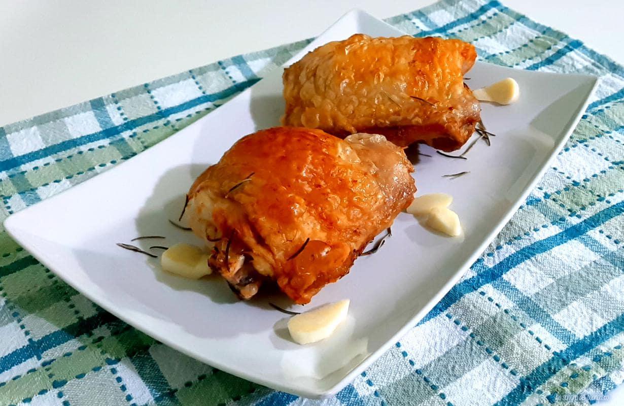 Anche di pollo alla friggitrice ad aria