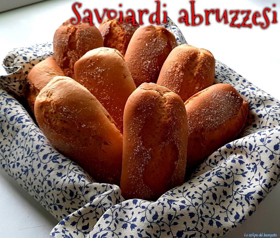 Savoiardi abruzzesi