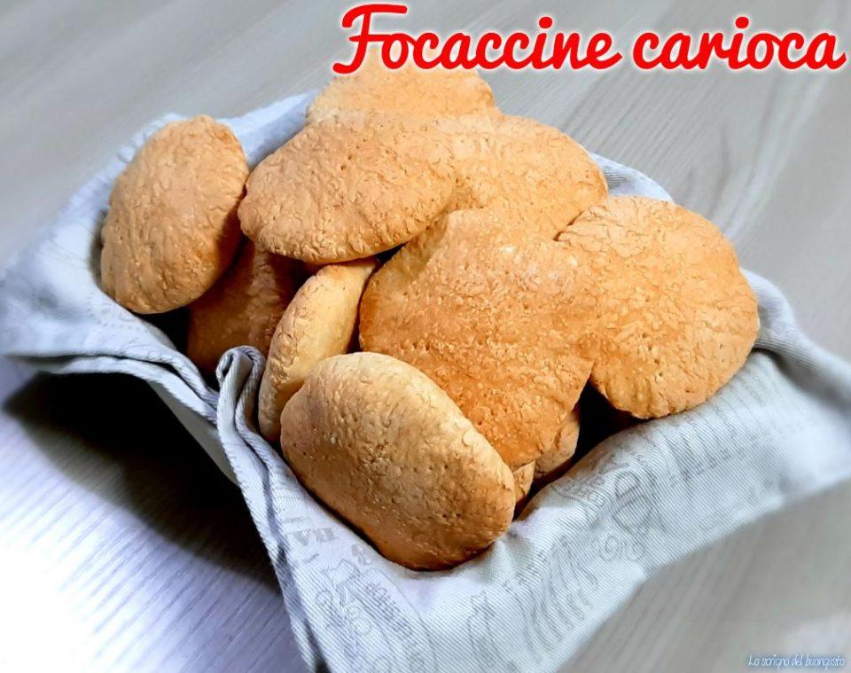 Focaccine carioca