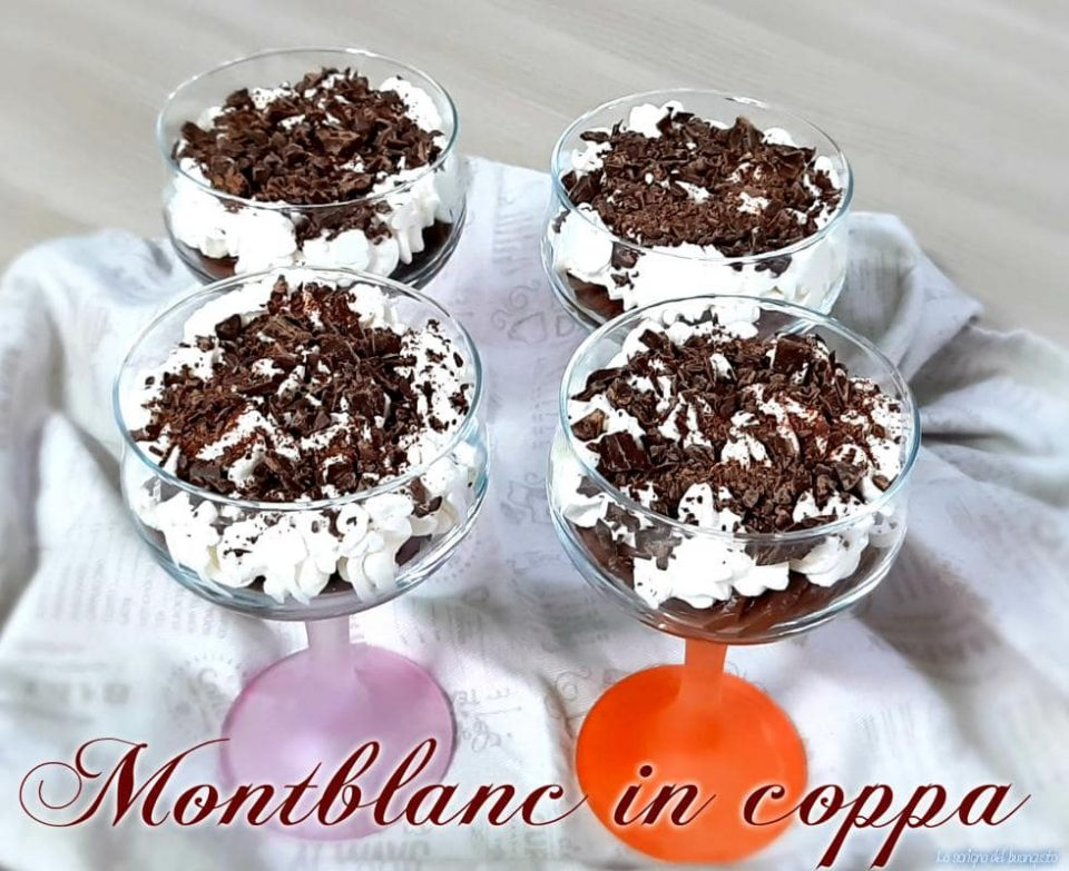 Montblanc in coppa