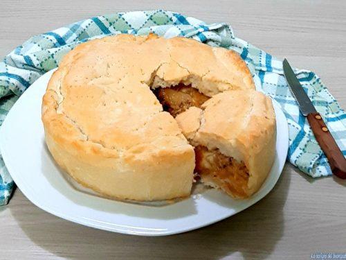 Torta salata tonno e cipolla