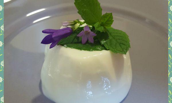 Mousse di yogurt alla menta