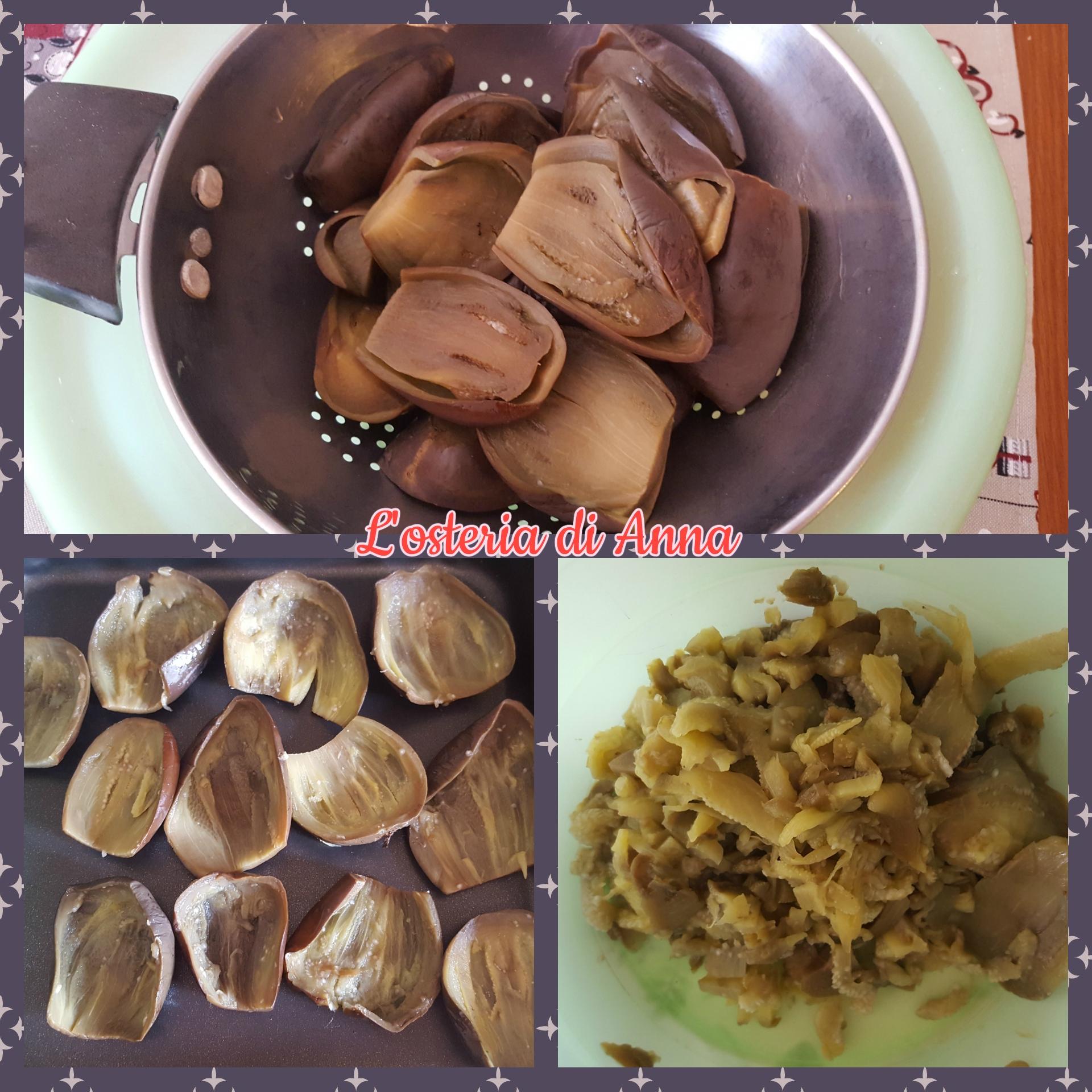 Preparazione delle melanzane