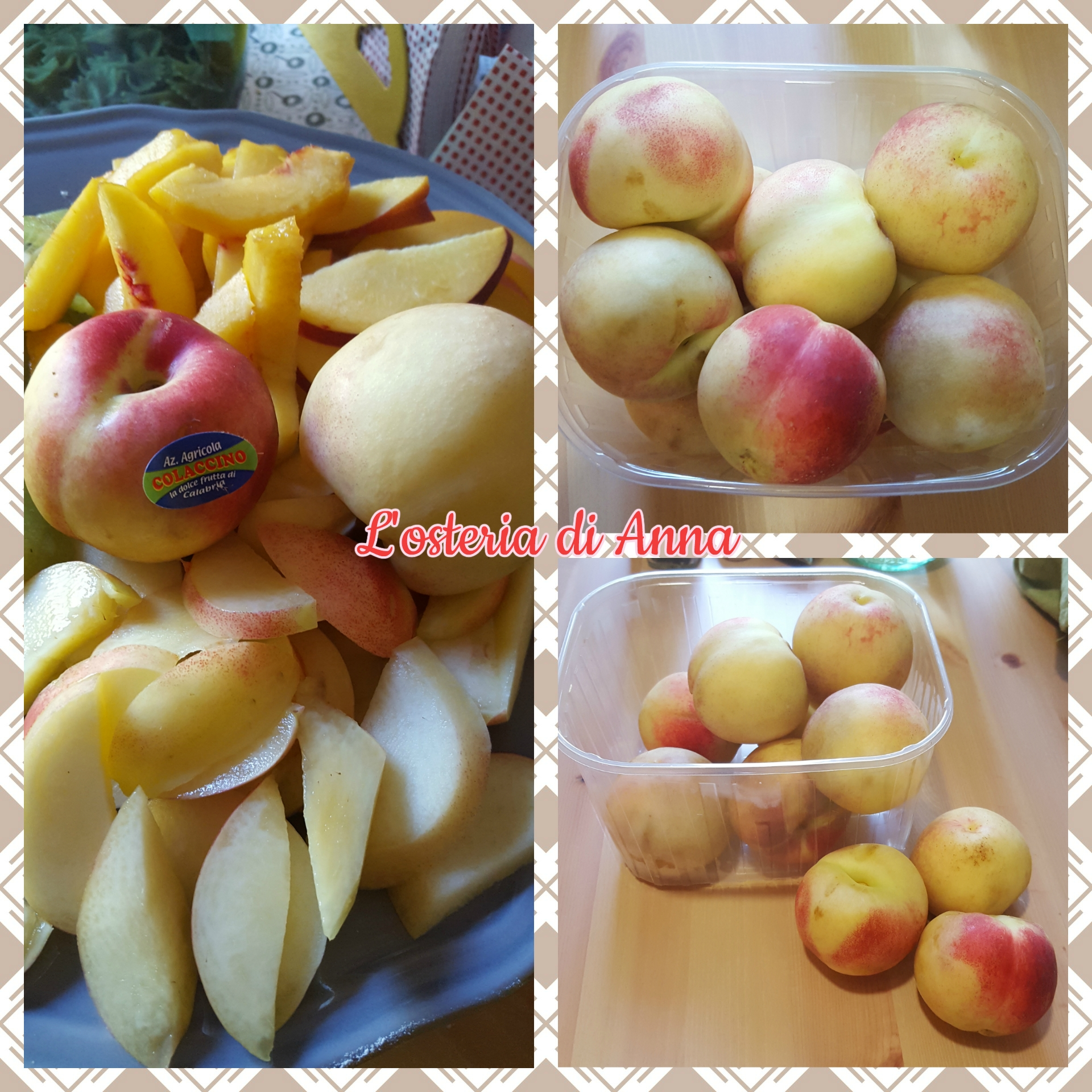 Merendelle (incrocio tra una nocepesca e una mela)