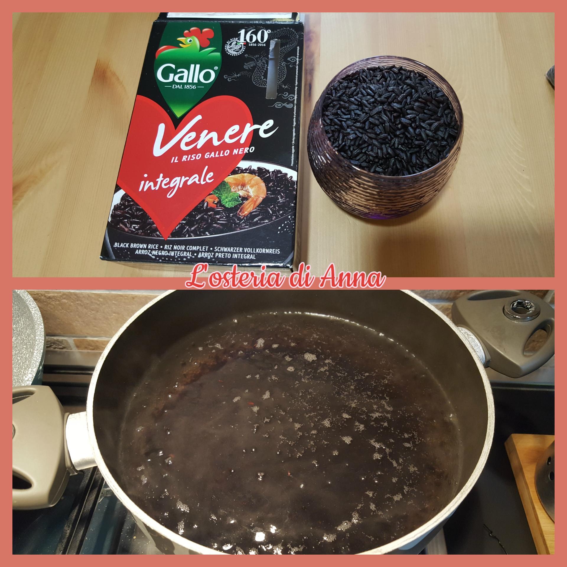 Cottura riso nero