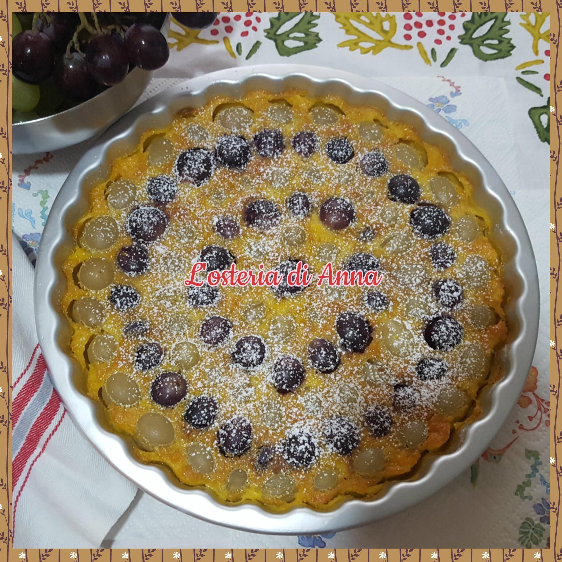 Clafoutis di uva