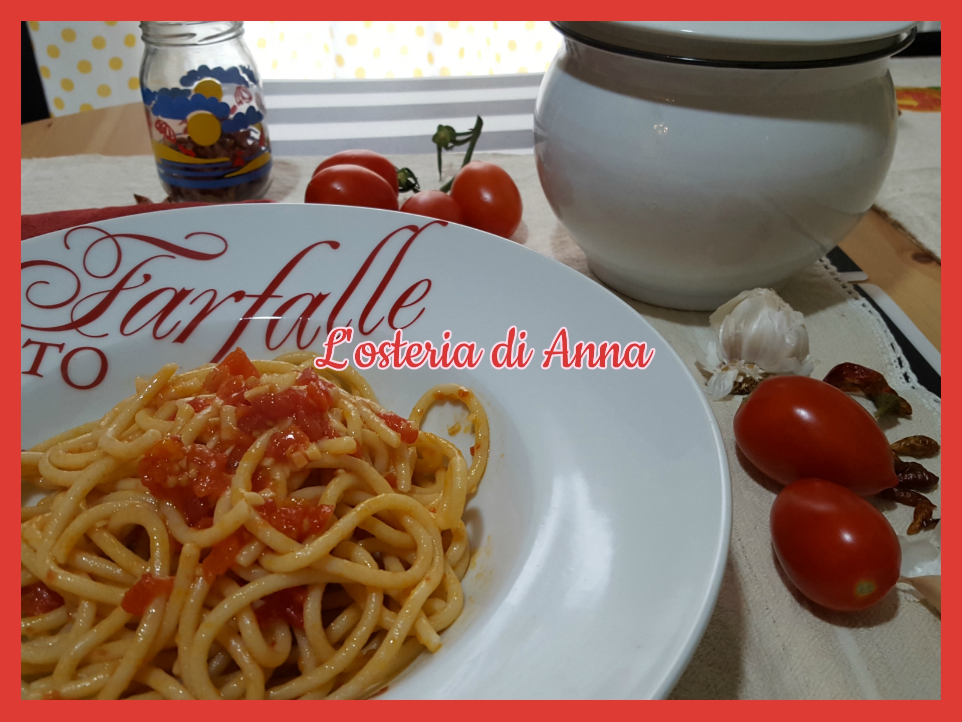 Pici all'aglione - ricetta toscana