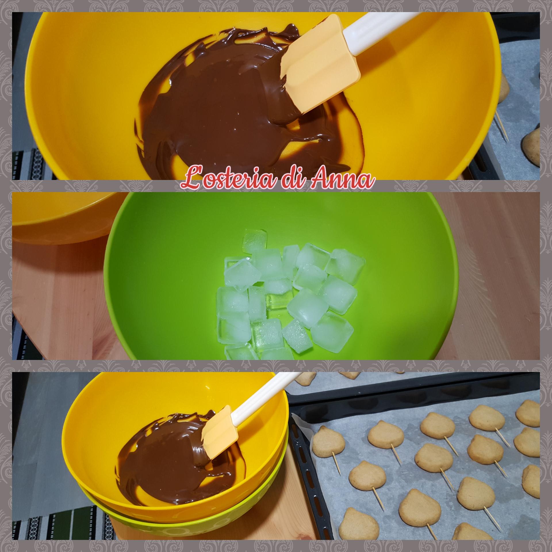 Stemperare il cioccolato fondente