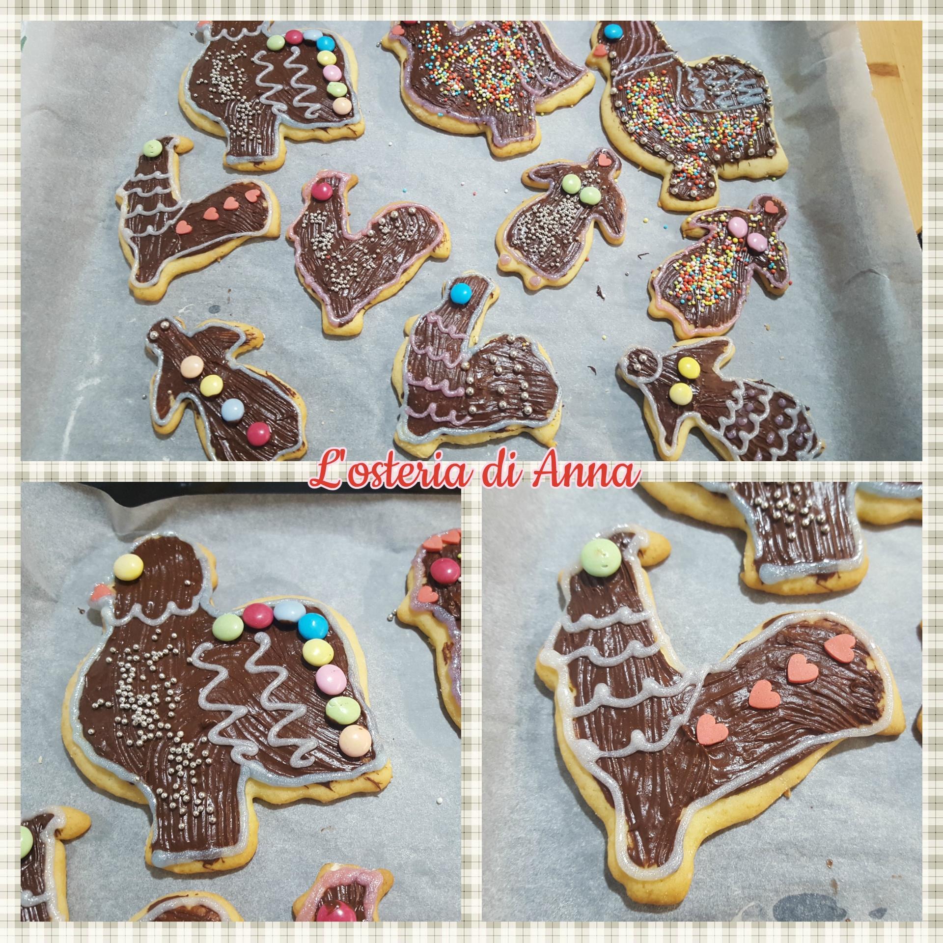 Decorazione dei biscotti