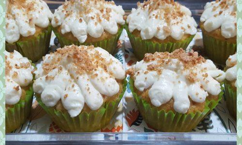 Cupcake di zucca e amaretti