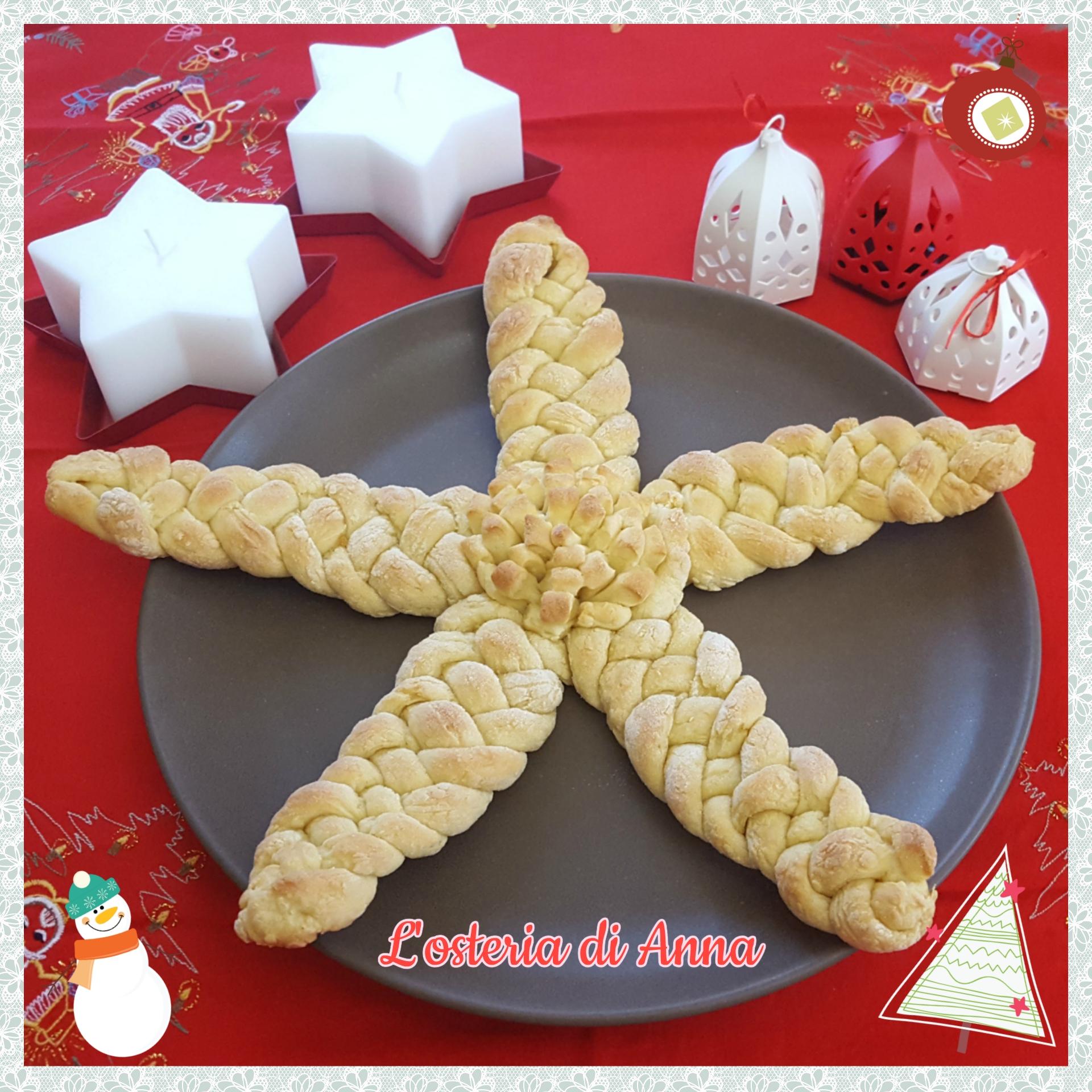 Pane (stella di Natale intrecciata)