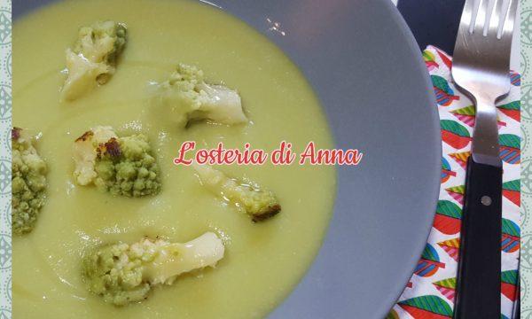 Vellutata di broccolo romanesco e patate