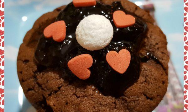 Muffin al cacao (idea San Valentino)