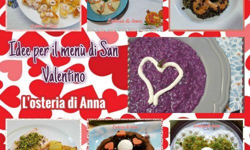 Idee per il menù di San Valentino