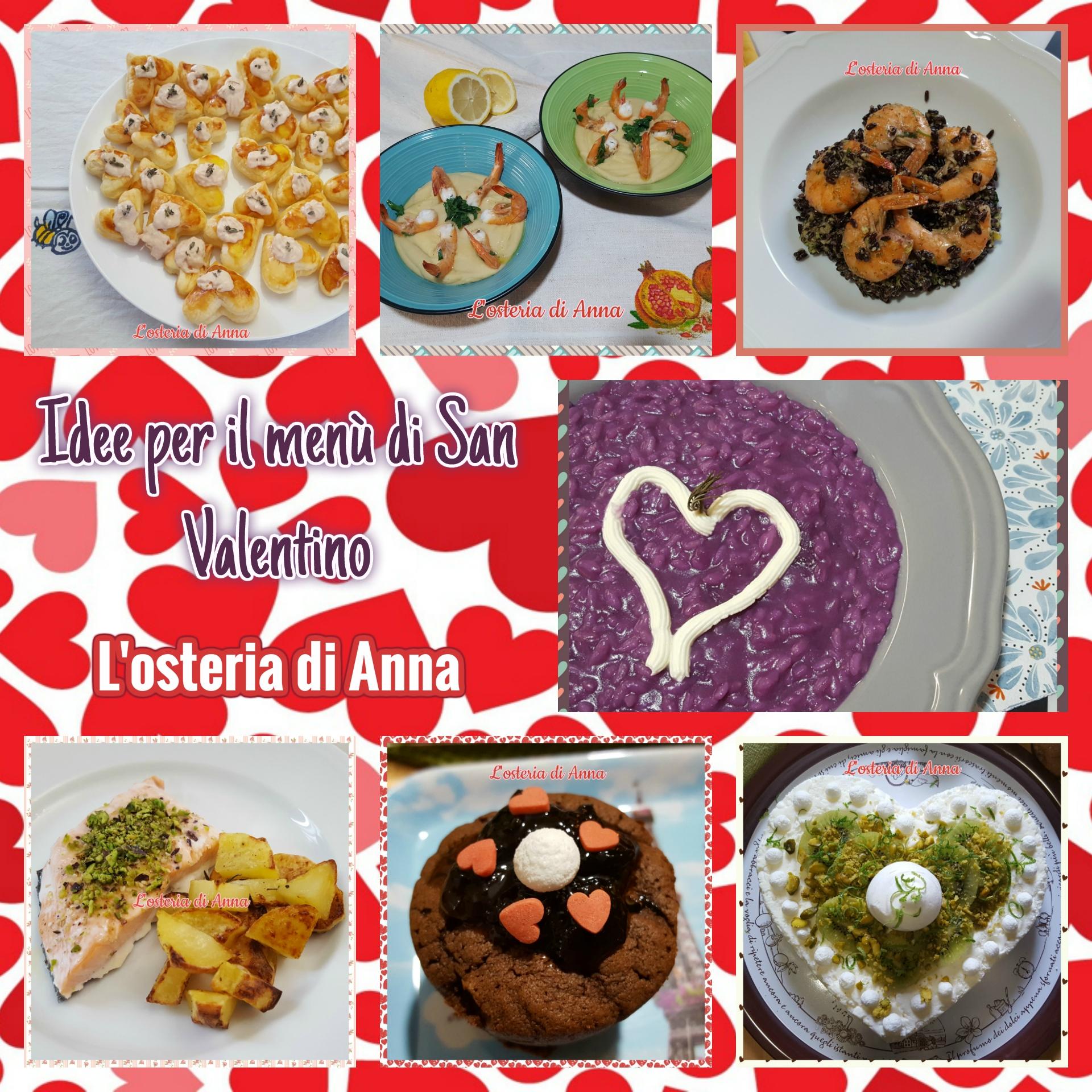 Idee per il menù di San Valentino | L\'osteria di Anna