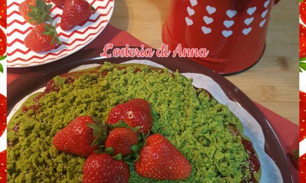 GREEN CAKE (Torta con spinaci e fragole)
