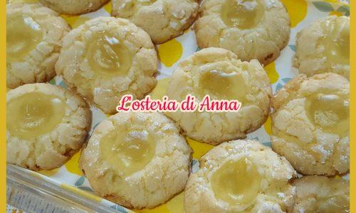 LIMONOTTI (Biscotti al limone frullato)