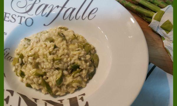 Risotto con asparagi e pecorino tartufato
