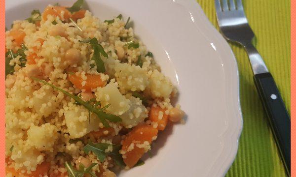 Cous cous di ceci e carote