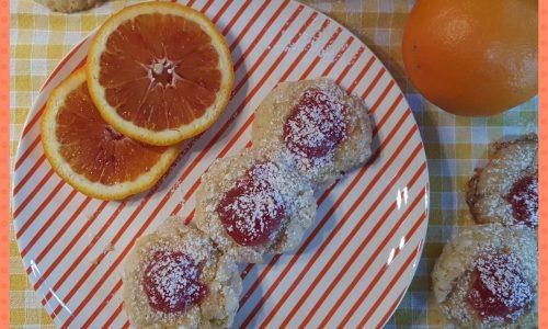 Aranciotti (biscotti all'arancia frullata)