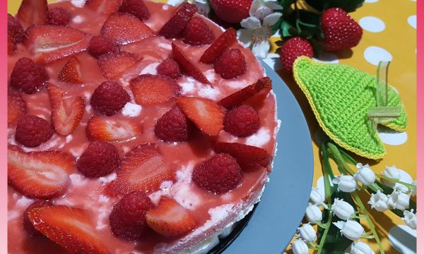 Cheesecake ricotta e fragole