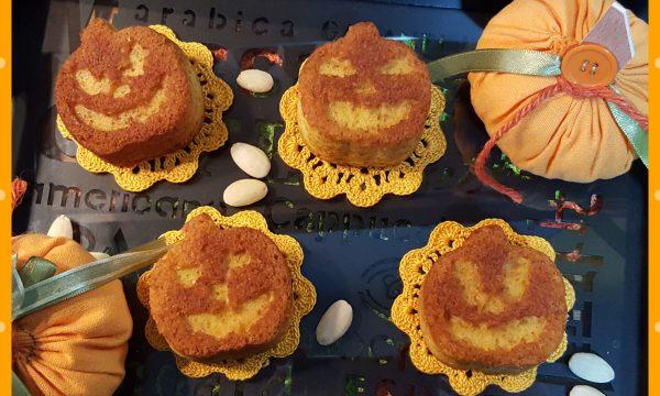 Muffin con zucca e mandorle