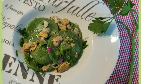 Tondini di ricotta con salsa alle vongole (ricetta di Beniamino Baleotti)