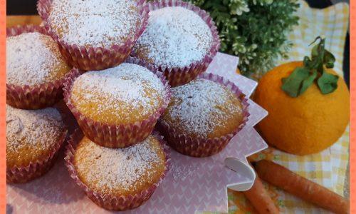 Muffin arancia e carote