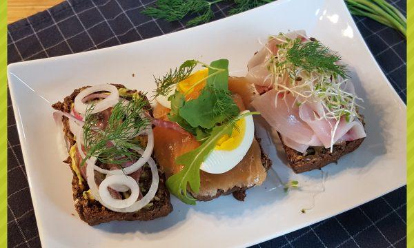 Smørrebrød (panino aperto danese)