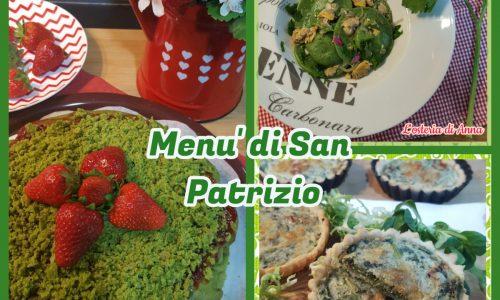 Menù di San Patrizio
