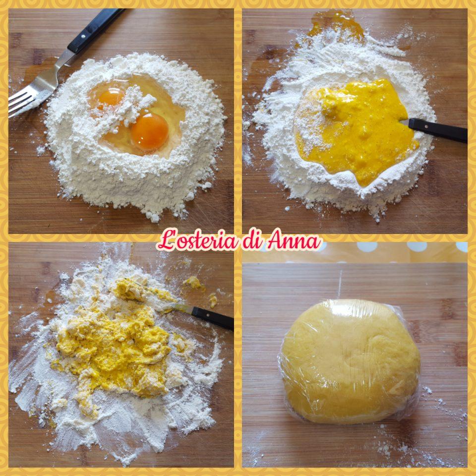 Impasto della pasta fresca