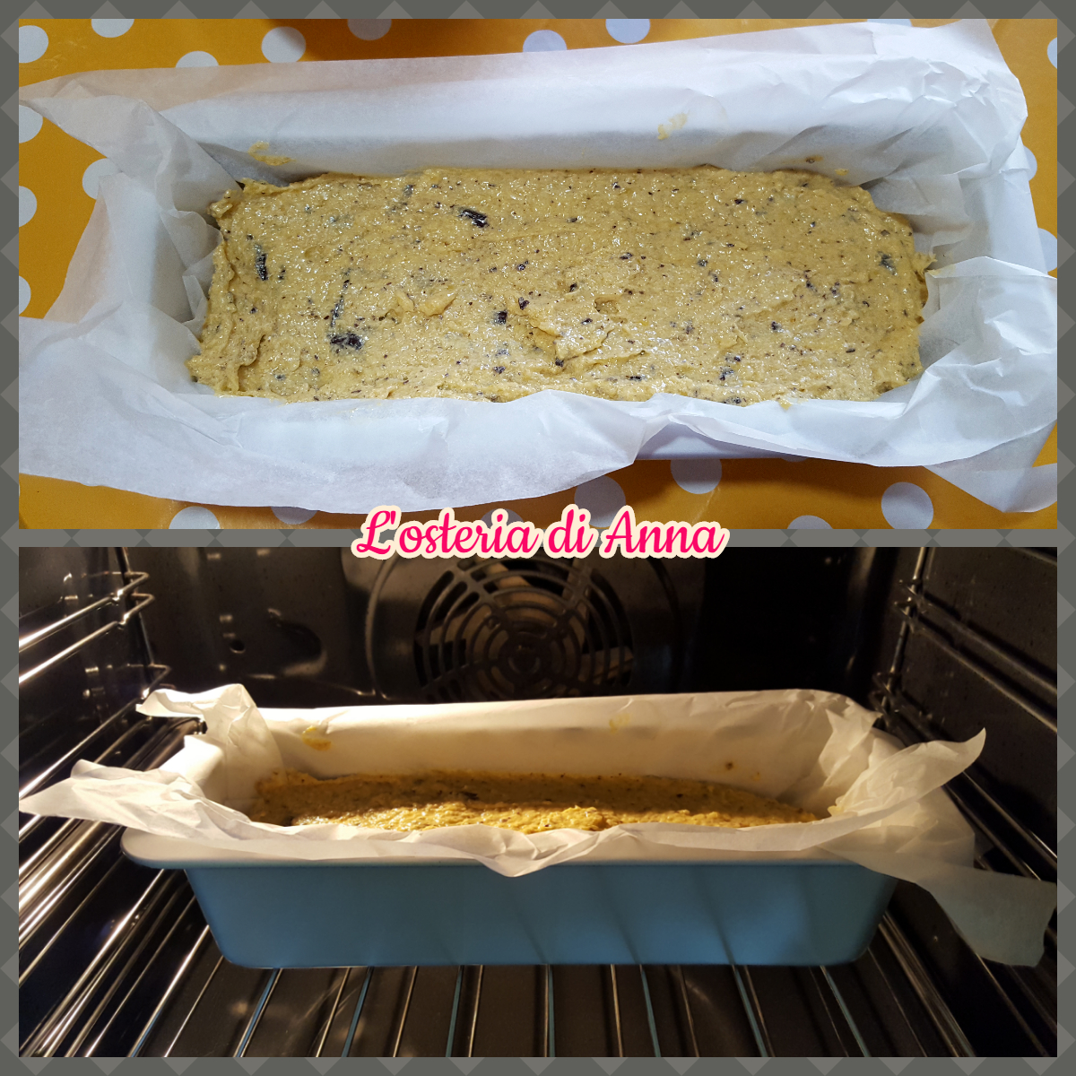 Cottura del plumcake