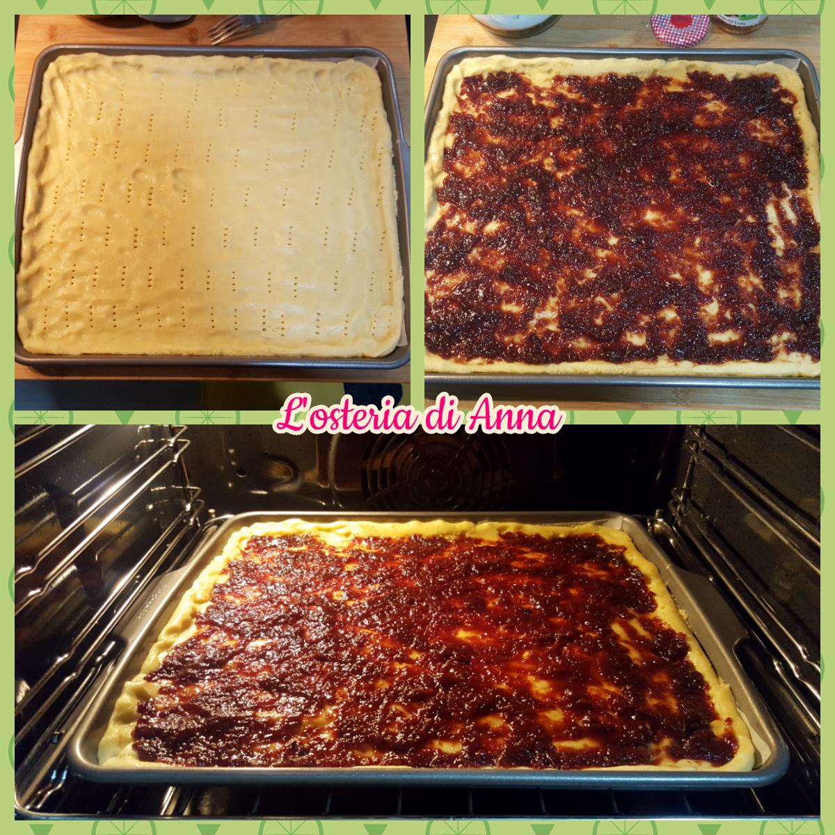 Cottura della crostata