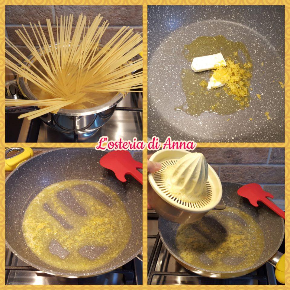 Preparazione degli spaghetti