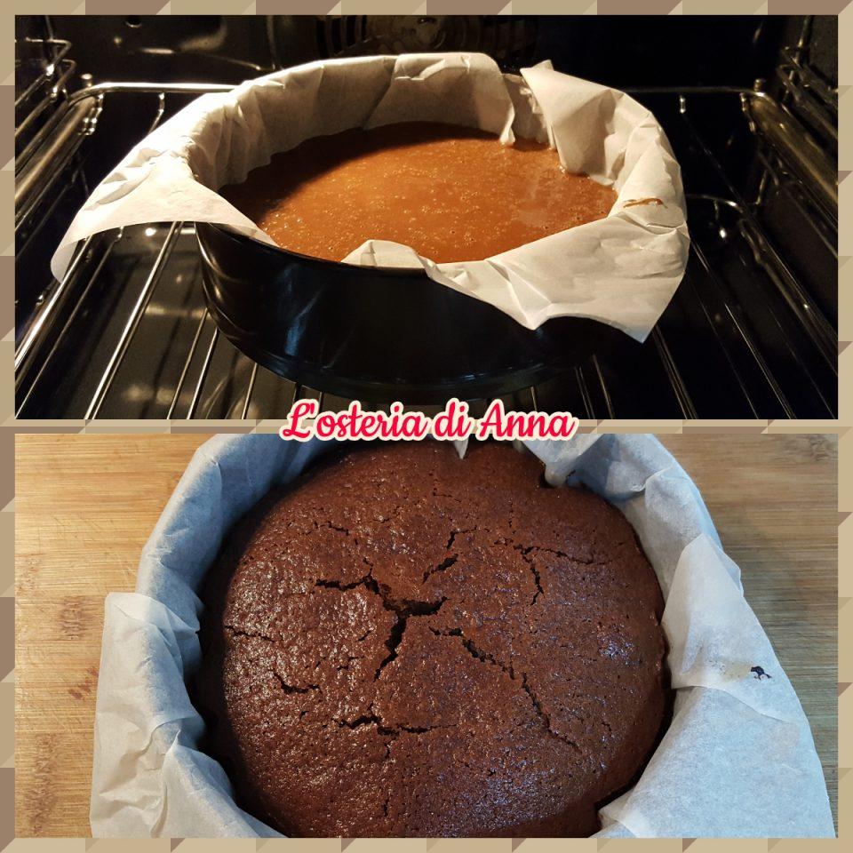 Cottura torta all'acqua
