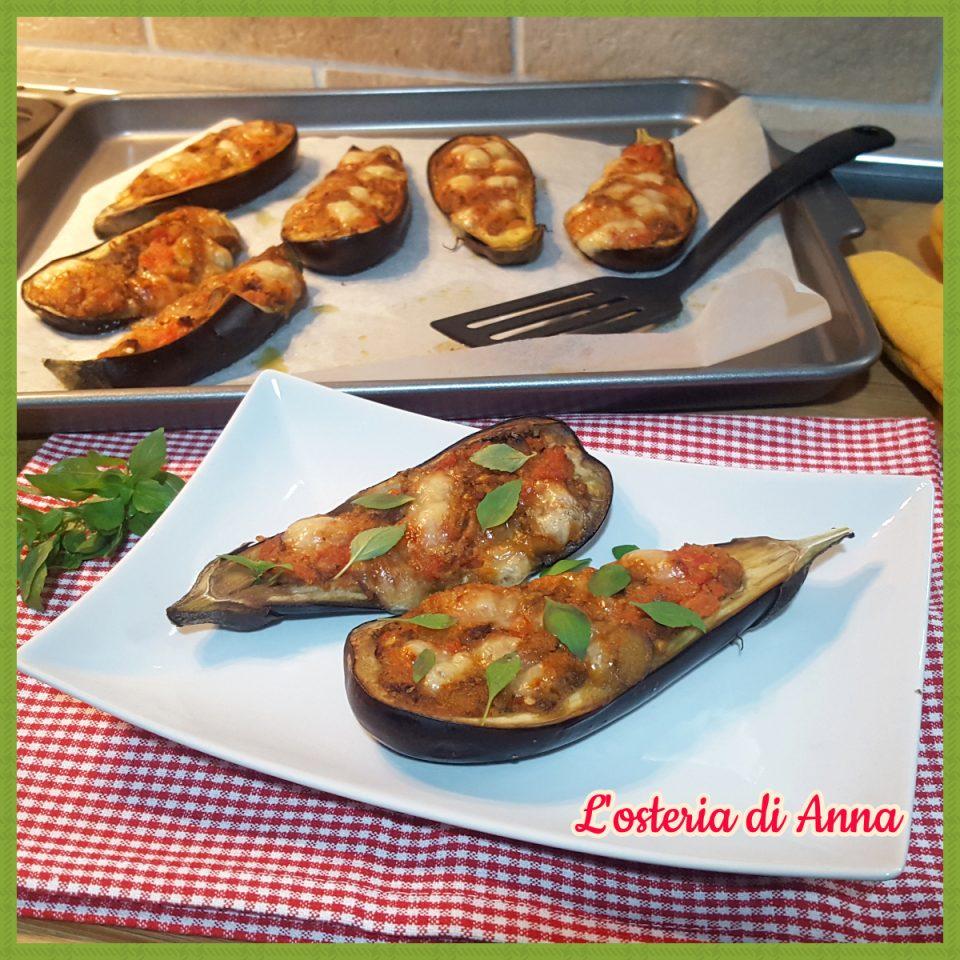Melanzane ripiene al forno (ricetta facile)