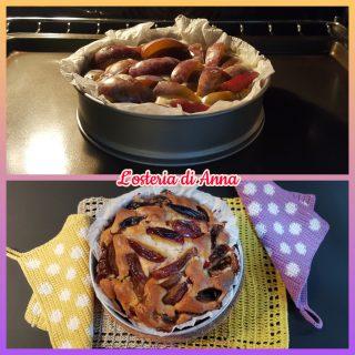Cottura in forno della torta