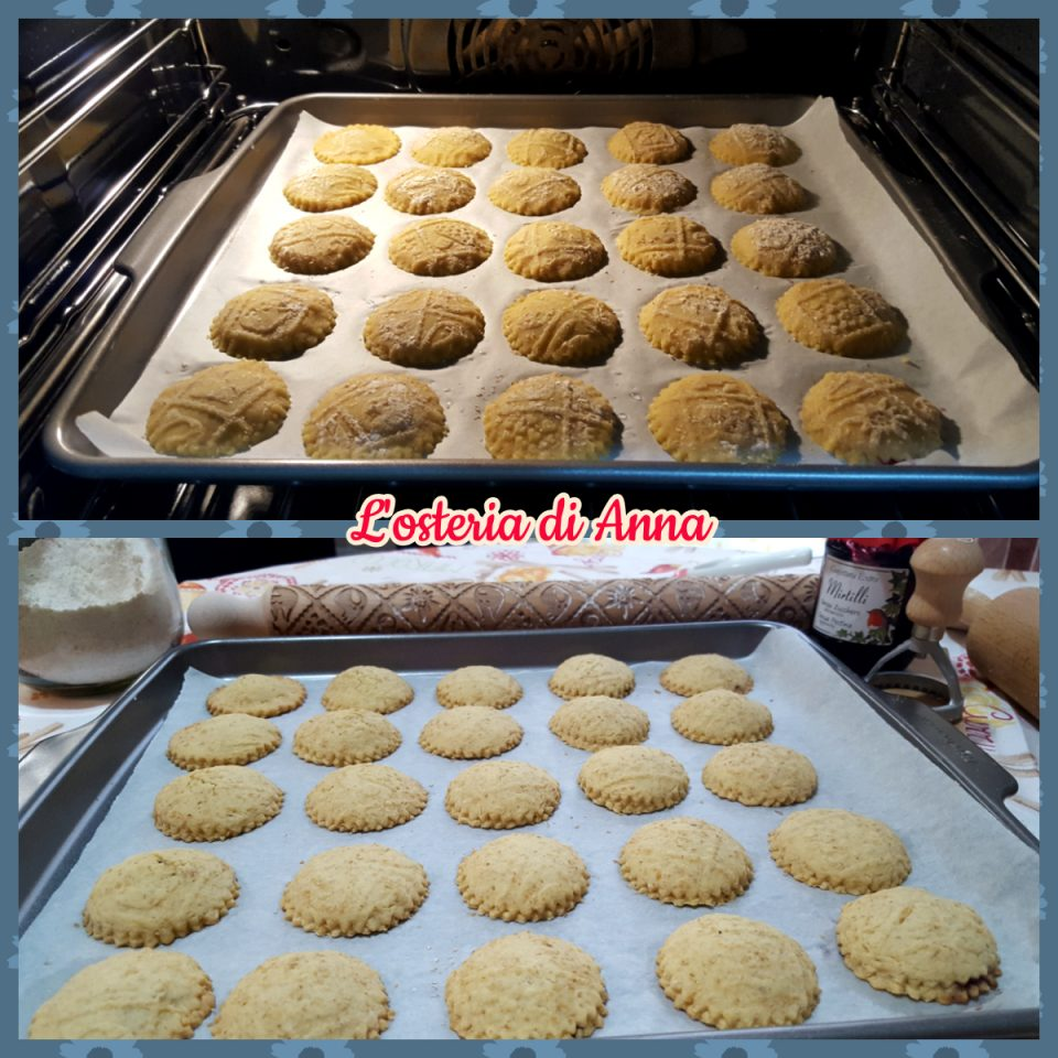 Cottura dei biscotti integrali