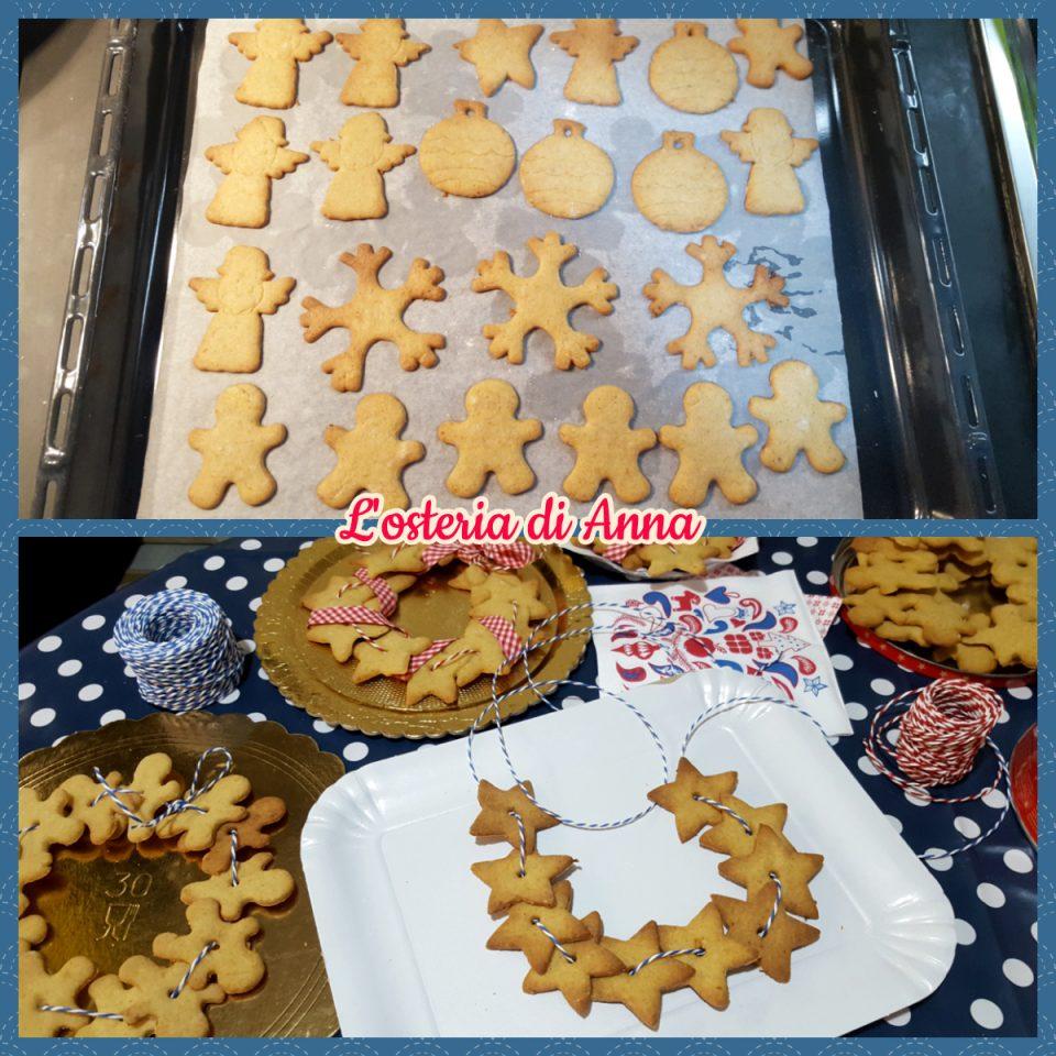 Cottura dei biscotti in forno