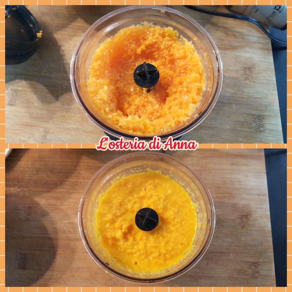 Preparazione delle carote