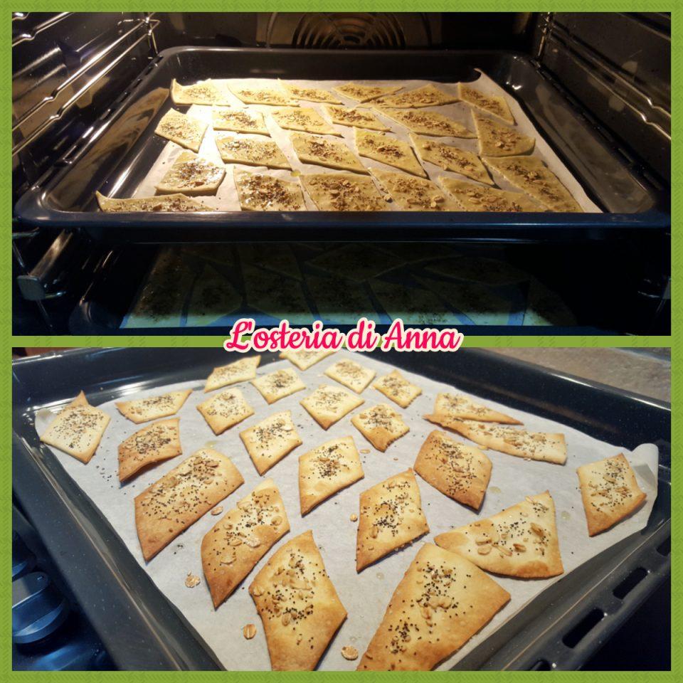 Cottura dei crackers