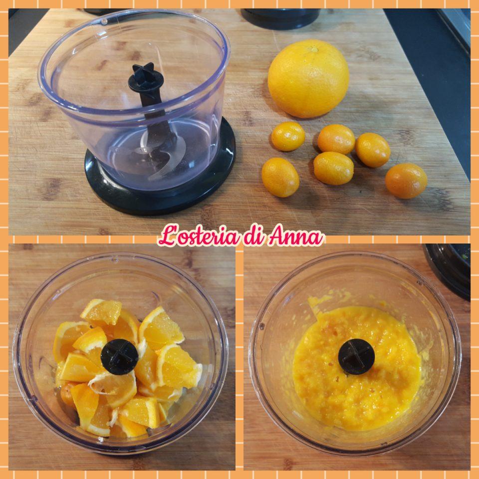 Frullare l'arancia
