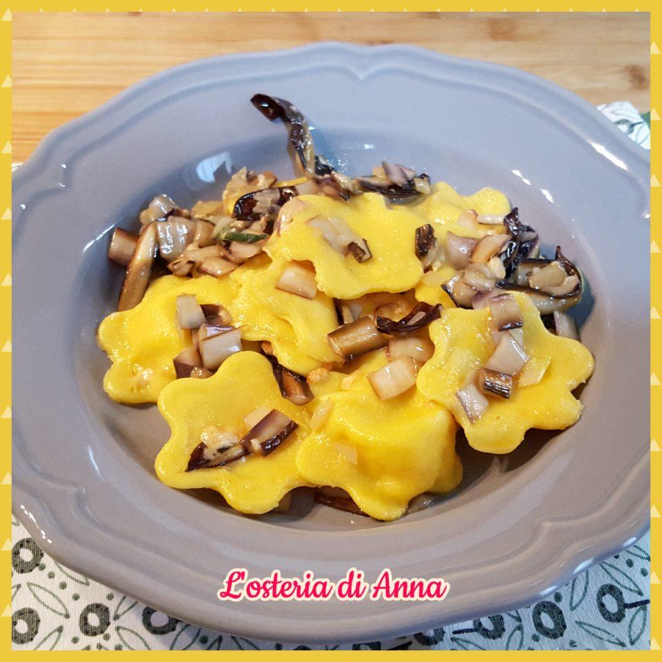 Fiori di pasta fresca