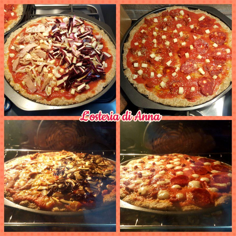 Cottura della pizza