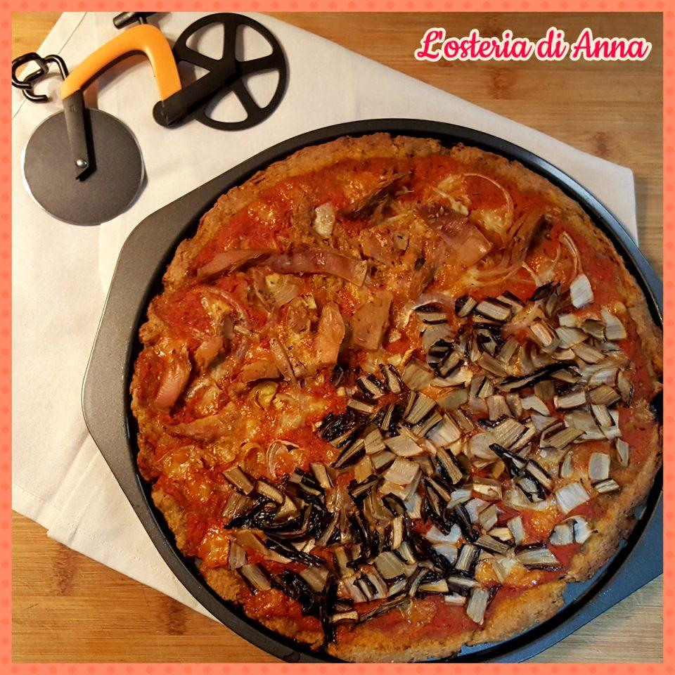 Pizza di segale integrale