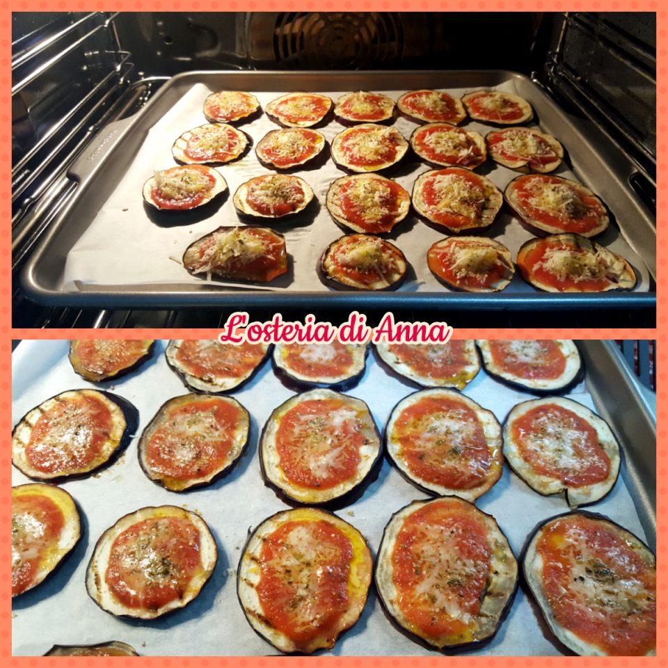 Cottura delle pizzette