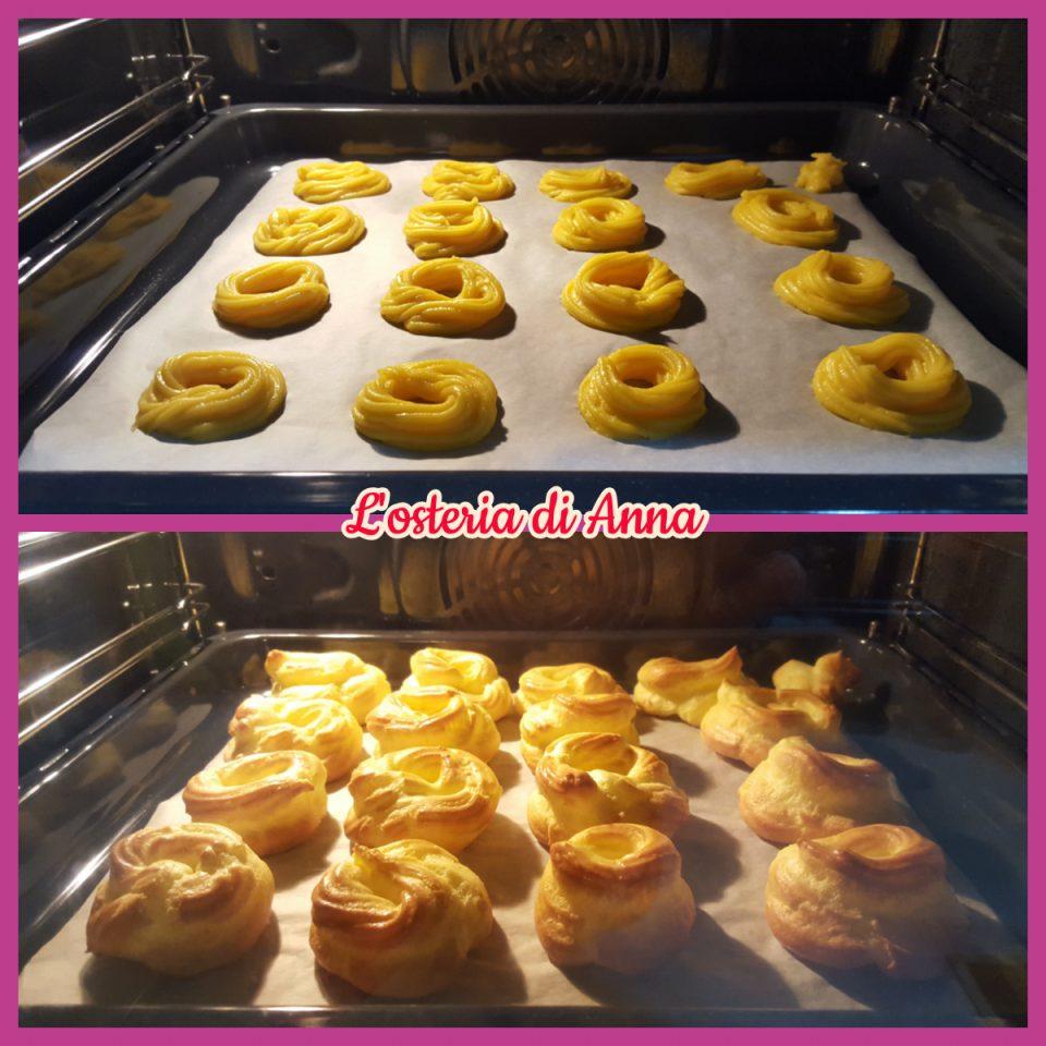 Cottura pasta choux