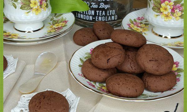 Biscotti al cacao (con lievito madre)